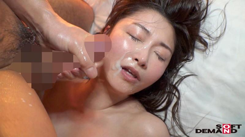 三浦歩美の顔射セックス
