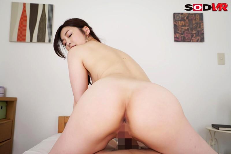 三浦歩美のVR背面騎乗位セックス