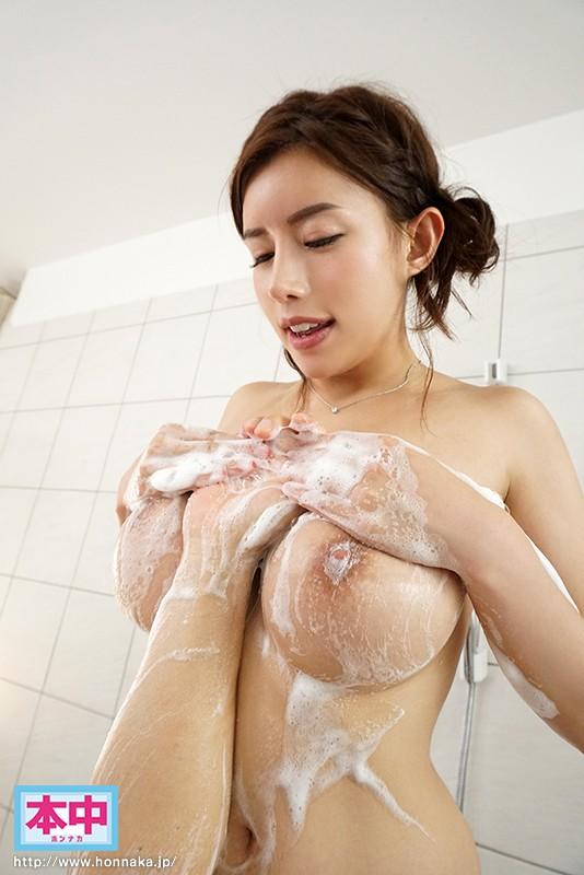 永井マリアの洗体おっぱい