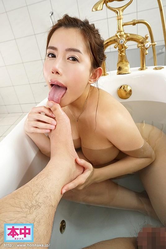 永井マリアの足裏舐めご奉仕