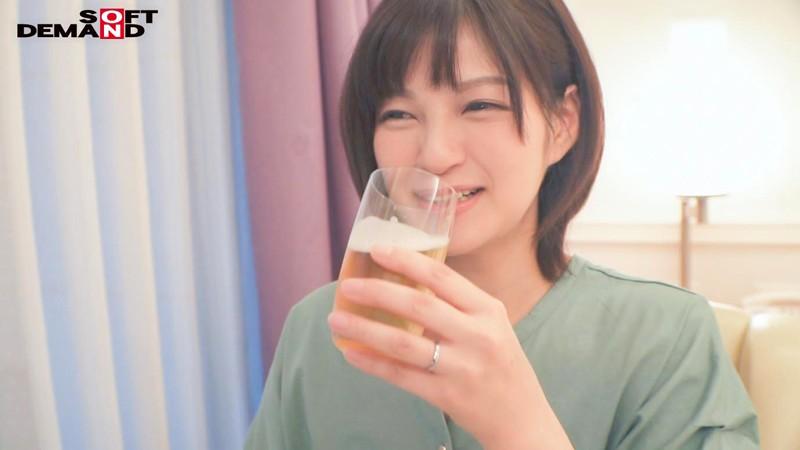 西村有紗のビール飲んで酔っ払い