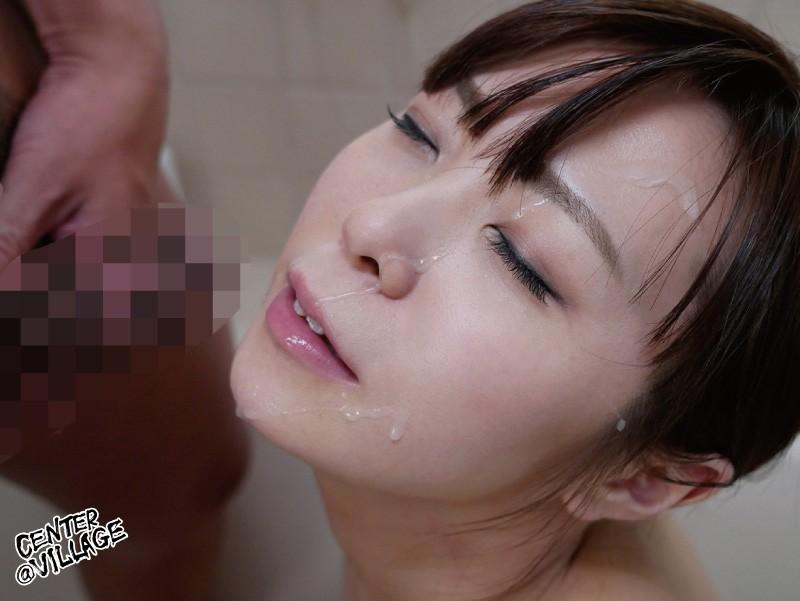 藤沢美沙希顔射
