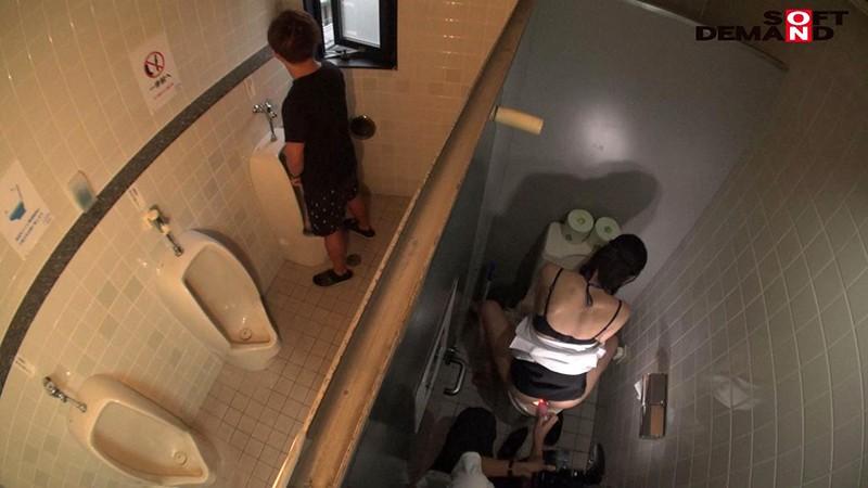 千葉多香子の男子トイレでハメ撮り